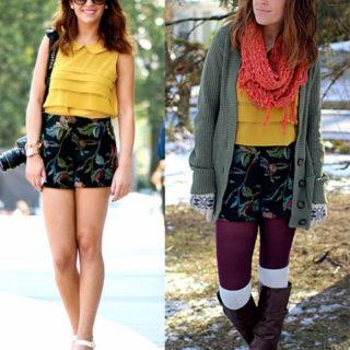 refashion shorts