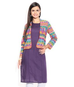 stylish ways to flaunt kurtis for college fashion