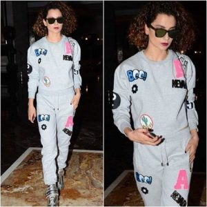 kangana travel look