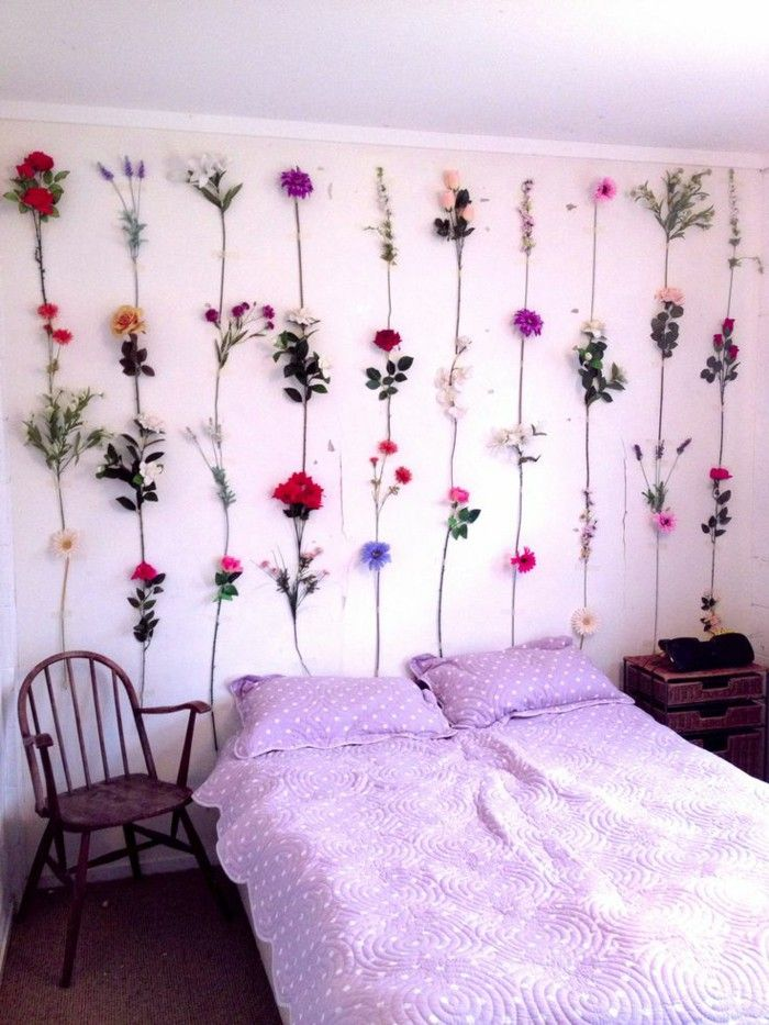 Wall Decor Ideas : Style that boring wall above your bed ...
