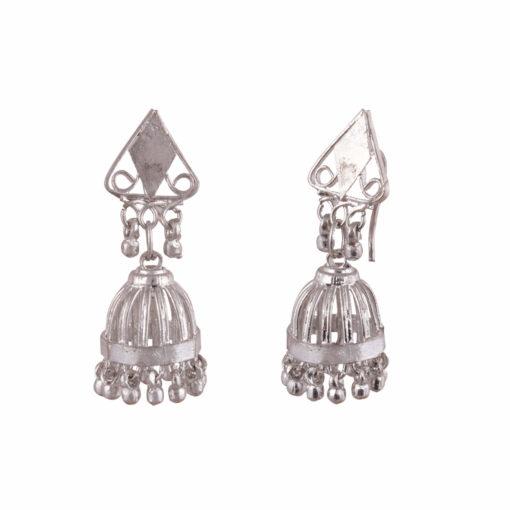 Cage style artisanal jhumkas Earrings 02