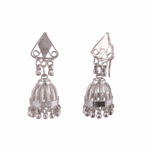 Cage style artisanal jhumkas Earrings 02
