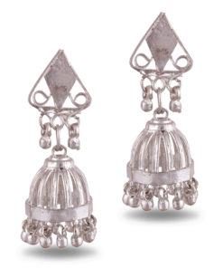Cage style artisanal jhumkas Earrings