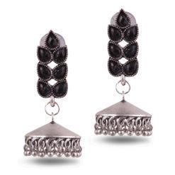 Classic jhumka with stones Earrings