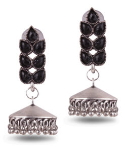 Classic jhumka with stones Earrings