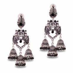 Exquisite Peacock Danglers Earrings