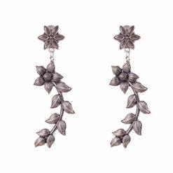Floral Curves Earrings 01