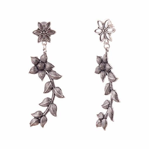 Floral Curves Earrings 02