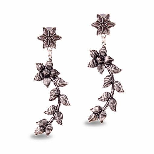 Floral Curves Earrings