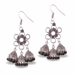 Flower Power Jhumka Love Earrings
