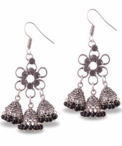 Flower Power Jhumka Love Earrings