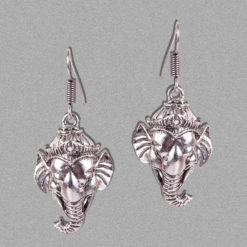 Ganpati Bappa Tassels Earrings