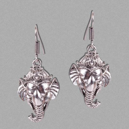 Ganpati Bappa Tassels Earrings