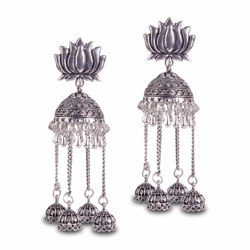 Gypsy Soul Jhumka Earrings