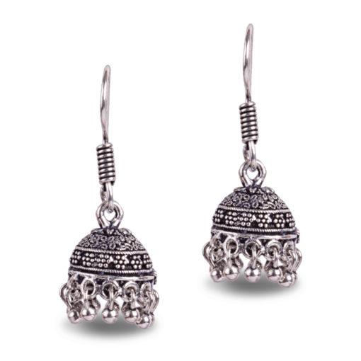 Honeydew Jhumki Earrings