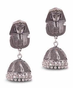 Sphynx in German Silver Earrings