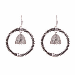 Unique Designer Hoops with Jhumka Earrings 01