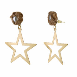 Born To Shine Starrings Gold Earrings 01