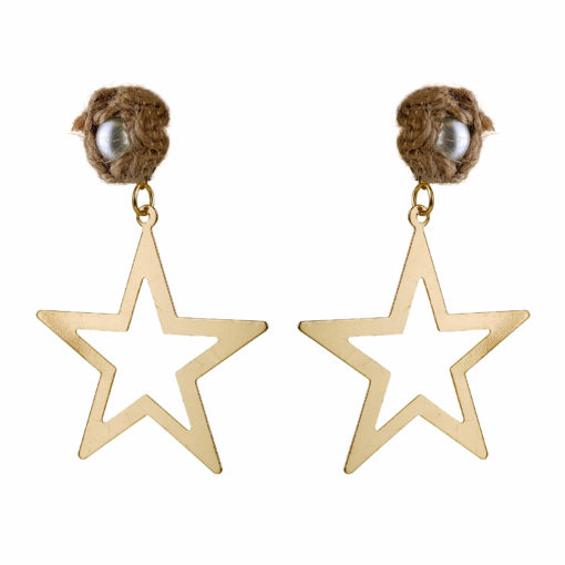 Born To Shine Starrings Gold Earrings 03