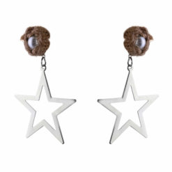 Born To Shine Starrings silver Earrings 01