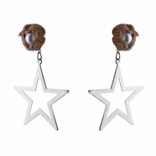 Born To Shine Starrings silver Earrings 01