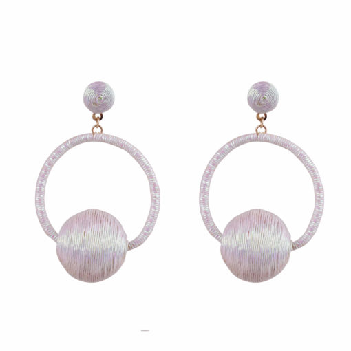 Disco Balls & Hoops Earrings 01