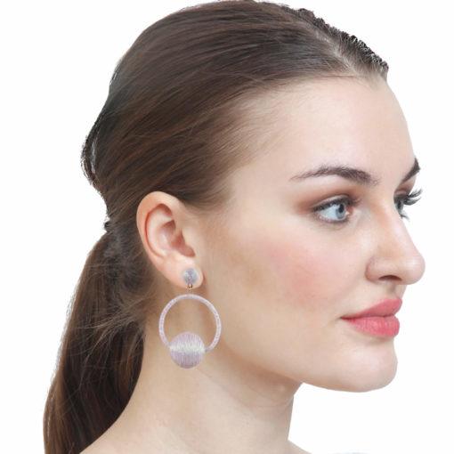 Disco Balls _ Hoops Earrings 03