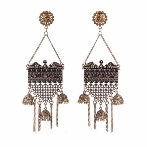 Drop Dead Gorgeous Gold Earrings 01