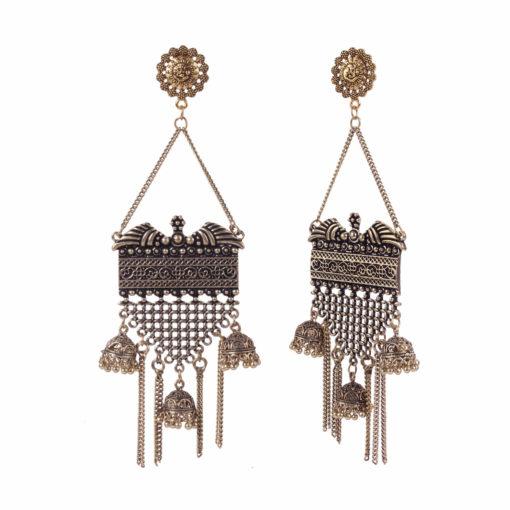 Drop Dead Gorgeous Gold Earrings 02
