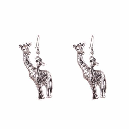 Giraffe Fans Earrings 01