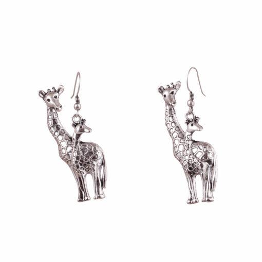 Giraffe Fans Earrings 02