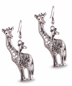 Giraffe Fans Earrings