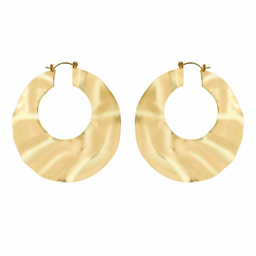 Gold Wonders Earrings 01