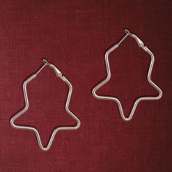 Golden Kid Stars Earrings