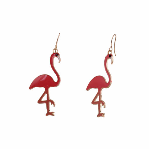 Pop Flamingoes Earrings Earrings 01