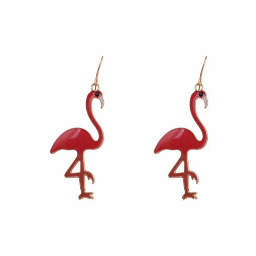 Pop Flamingoes Earrings Earrings 02