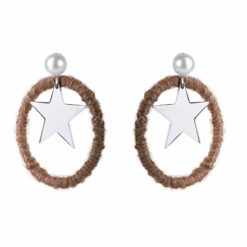 Stargazer Hoops Silver EARRINGS 01