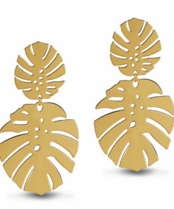 Tropical Wonder Golden Earrings
