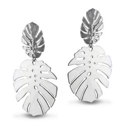 Tropical Wonder Silver Earrings