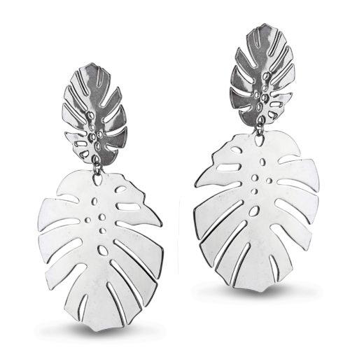 Tropical Wonder Silver Earrings