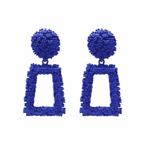 Funky Square Frames Earrings 1