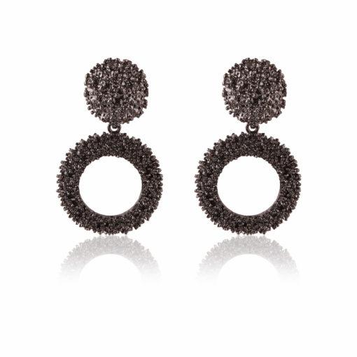 Jazzy Ivory Jhumkas Earrings 01