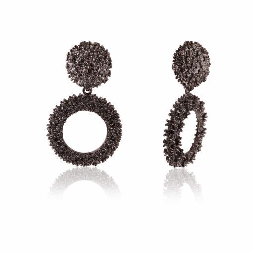 Jazzy Ivory Jhumkas Earrings 02