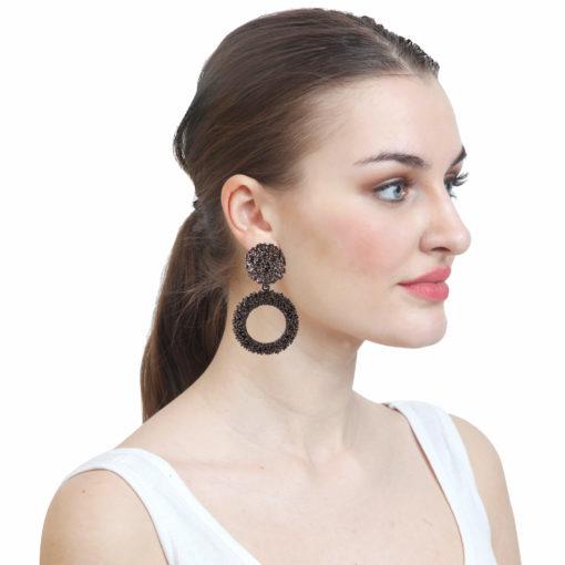 Jazzy Ivory Jhumkas Earrings 03