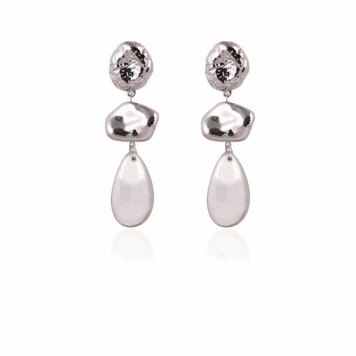 Silver Bling Earrings 01