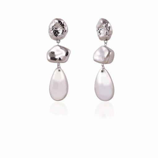 Silver Bling Earrings 02