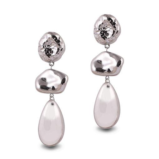 Silver Bling Earrings