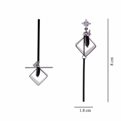 Silver Boxes Earrings 4