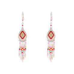Tiny Candy Aztecs Earrings 01
