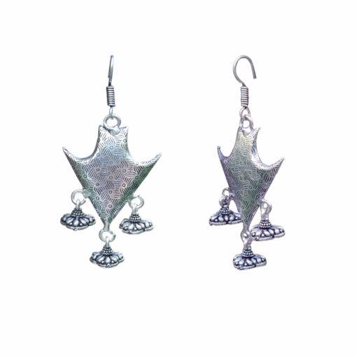 Warrior Shield Earrings 02